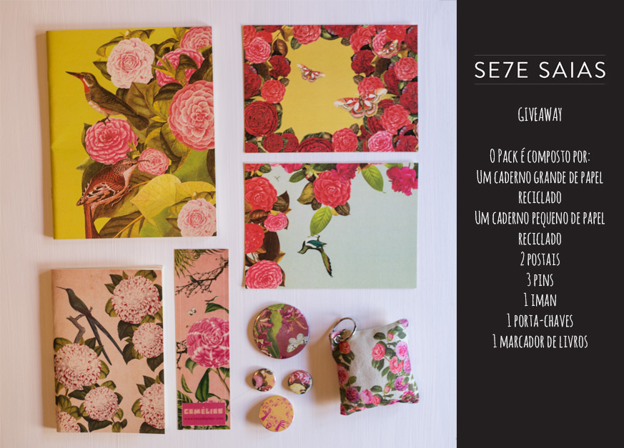 Giveaway Se7e Saias