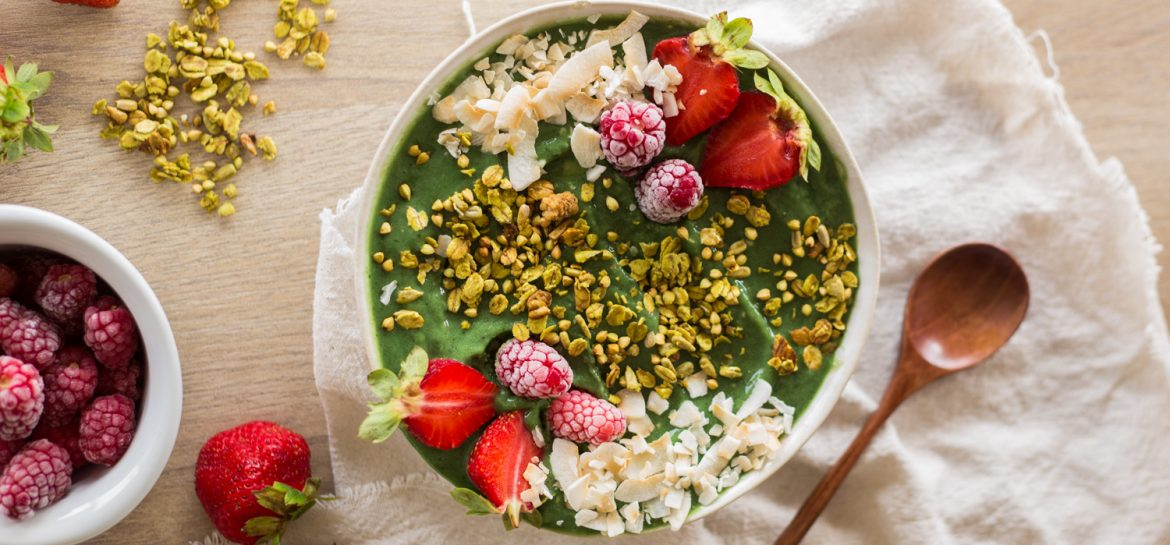 Smoothie Bowl com Spirulina