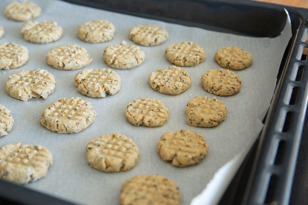 Cookies de Limão e Chia