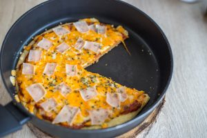 Pizza na Frigideira